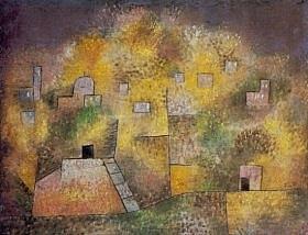 P.Klee - Giardino orientale - 1925